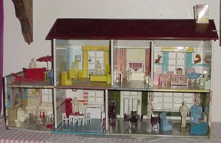 Vintage Metal Dollhouse 25