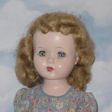 Plastic Vintage Doll 67